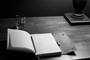 http://pixabay.com/en/writing-scotch-manuscript-notepad-203465/