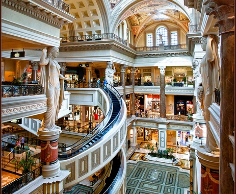 Author: Bert Kaufmann Author URL: https://www.flickr.com/people/22746515@N02/ Title: The Forum Shops at Caesars Palace Year: 2012 Source: Flickr Source URL: https://www.flickr.com License: Creative Commons Attribution-ShareAlike License License Url: https://creativecommons.org/licenses/by-sa/2.0/ License Shorthand: CC-BY-SA